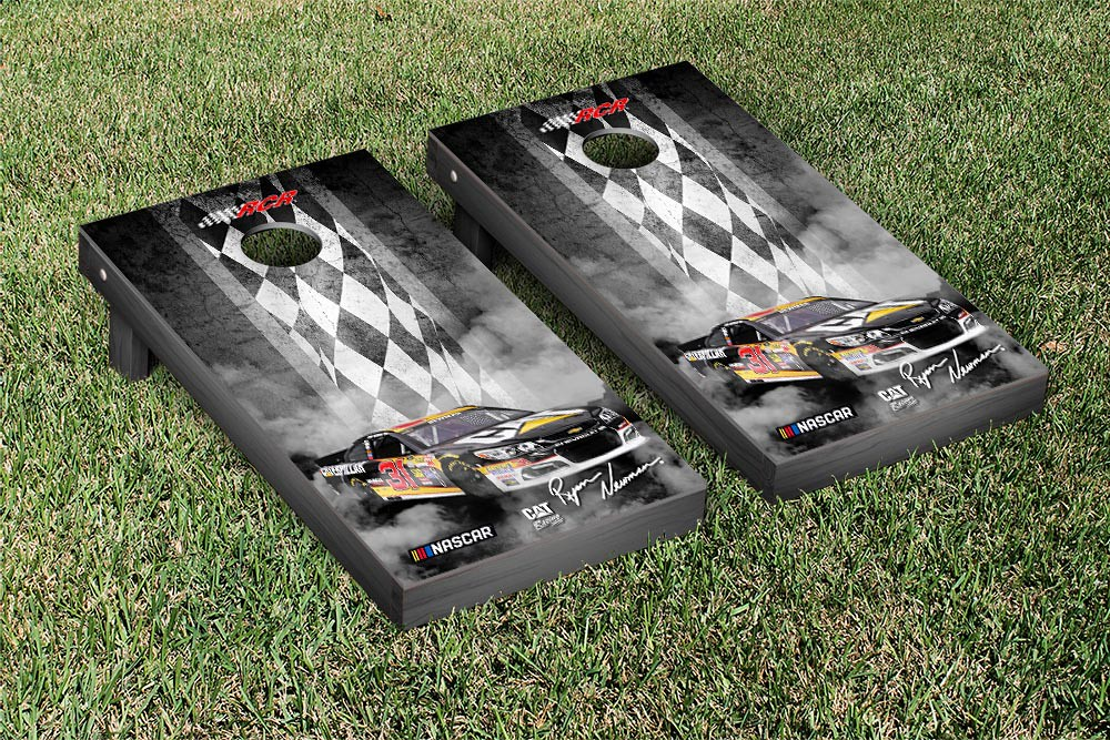 RYAN NEWMAN #31 CORNHOLE GAME SET PIT ROW VERSION (1