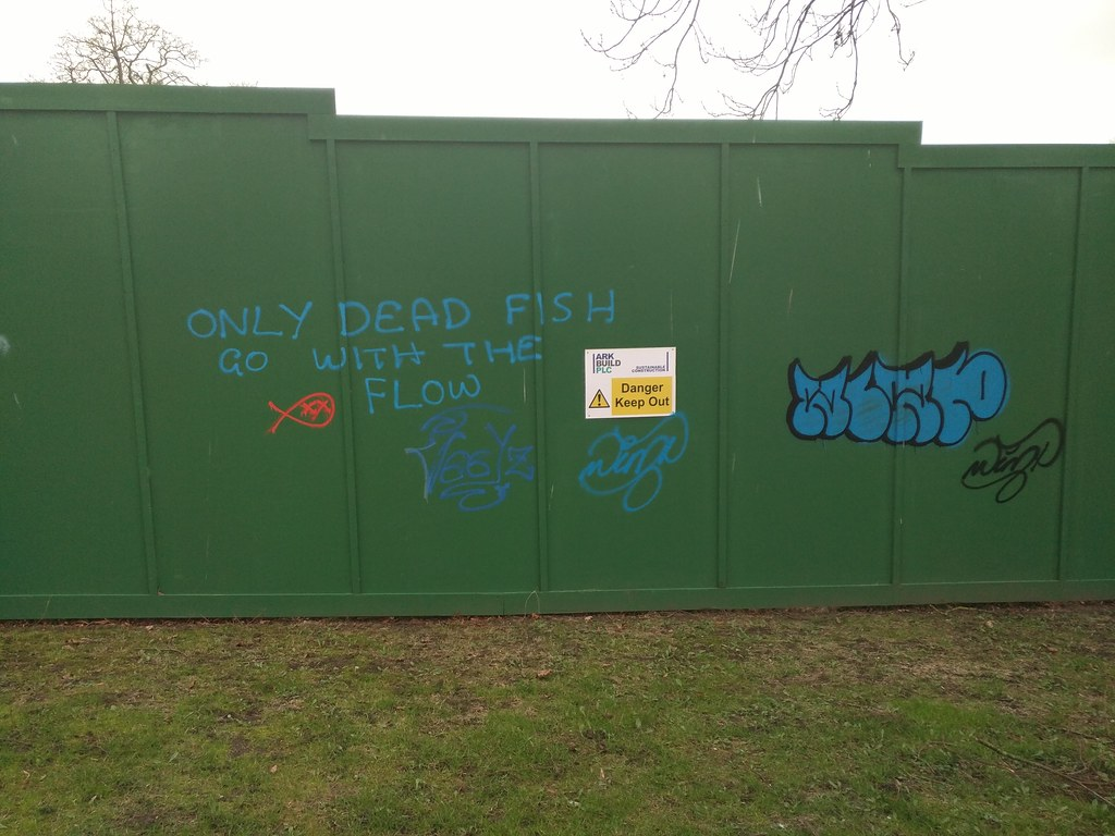 'Other people's graffiti' - Palace Road