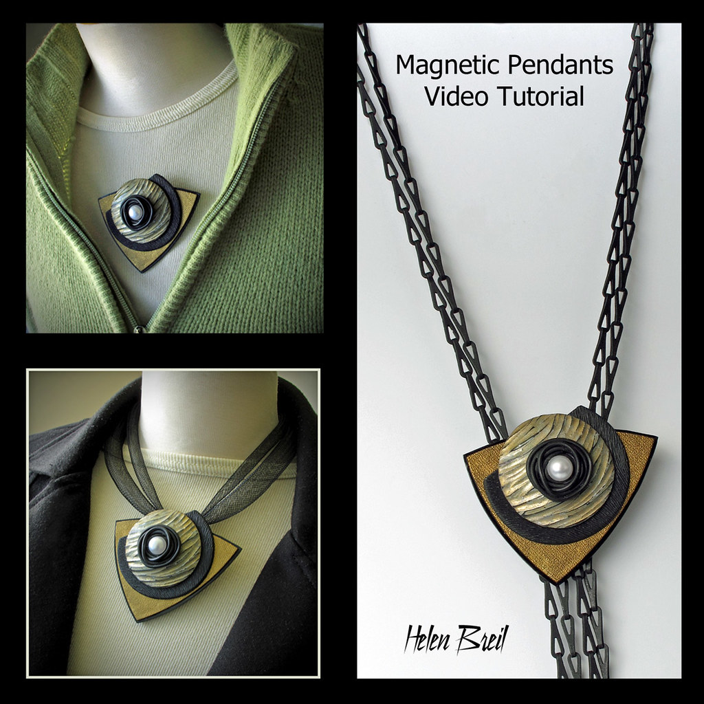 Magnetic pendants video tutorial heres another pendant de flickr magnetic pendants video tutorial by helen breil aloadofball Images