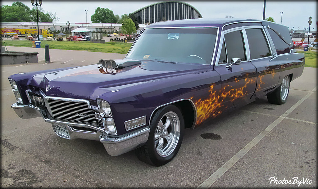 Cadillac Hearse Hot Rod By Photos By Vic