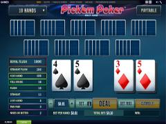 Pick'em Poker