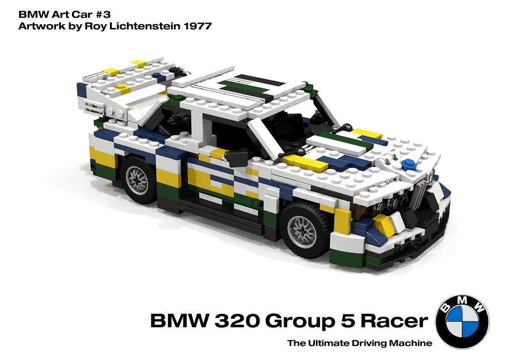 bmw 320 group 5 racer bmw art car 3 roy lichtenstein flickr. Black Bedroom Furniture Sets. Home Design Ideas