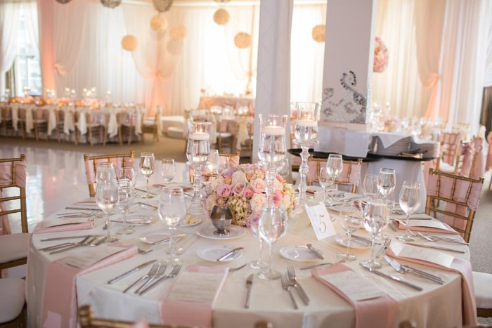 Pink Wedding Decorations Pictures