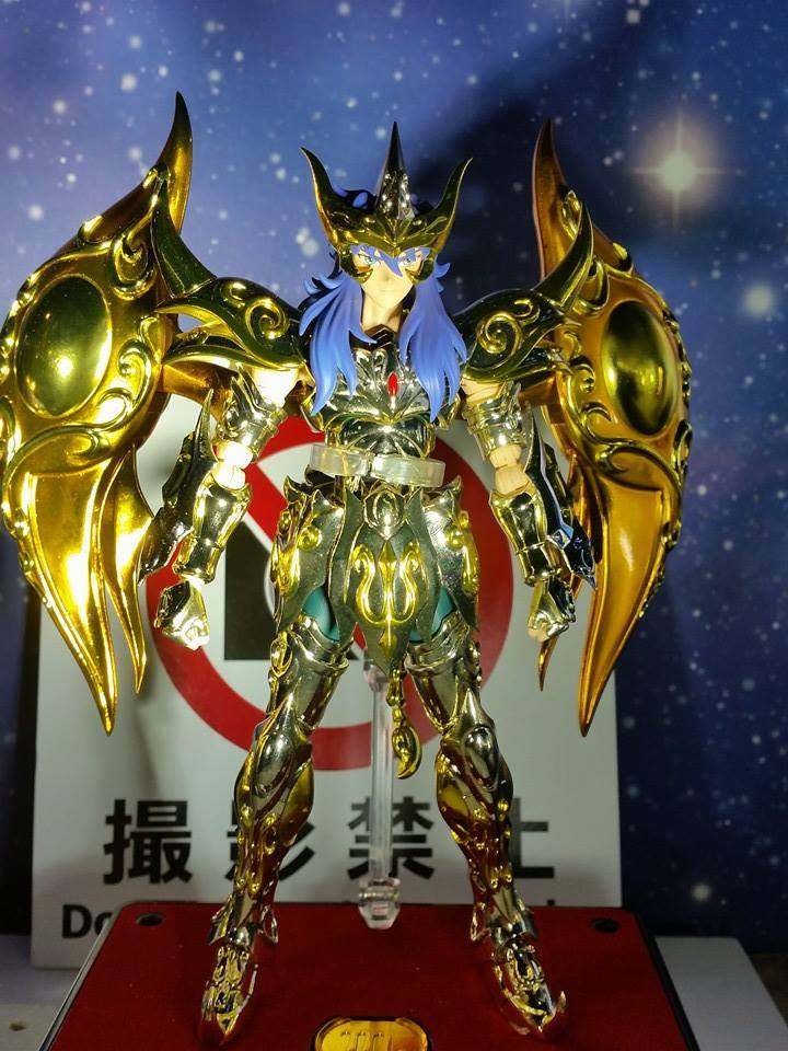 Myth Cloth EX Scorpio Milo God Cloth (Soul of Gold)