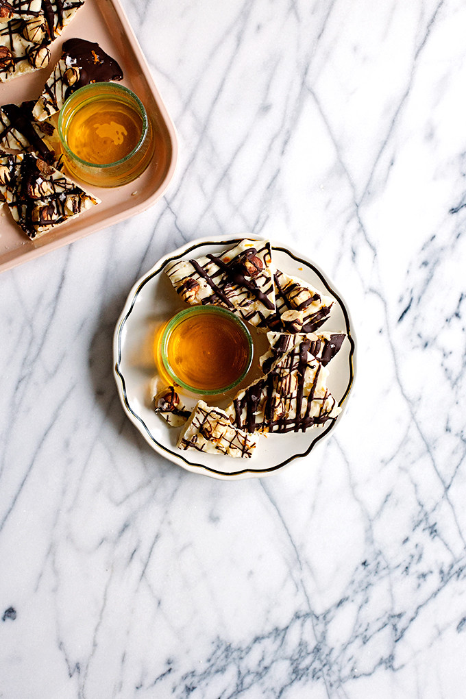 White Chocolate Orange Hazelnut Bark by @cindyr