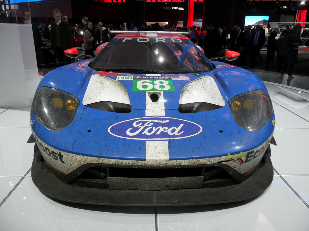 Xx Ford Gt Race Car Naias Jan   By