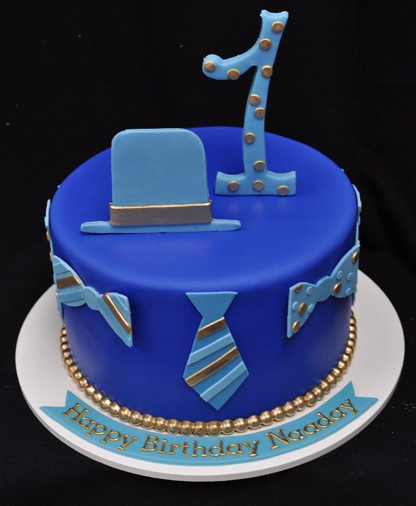 Dapper little man birthday cake Jenny Wenny Flickr