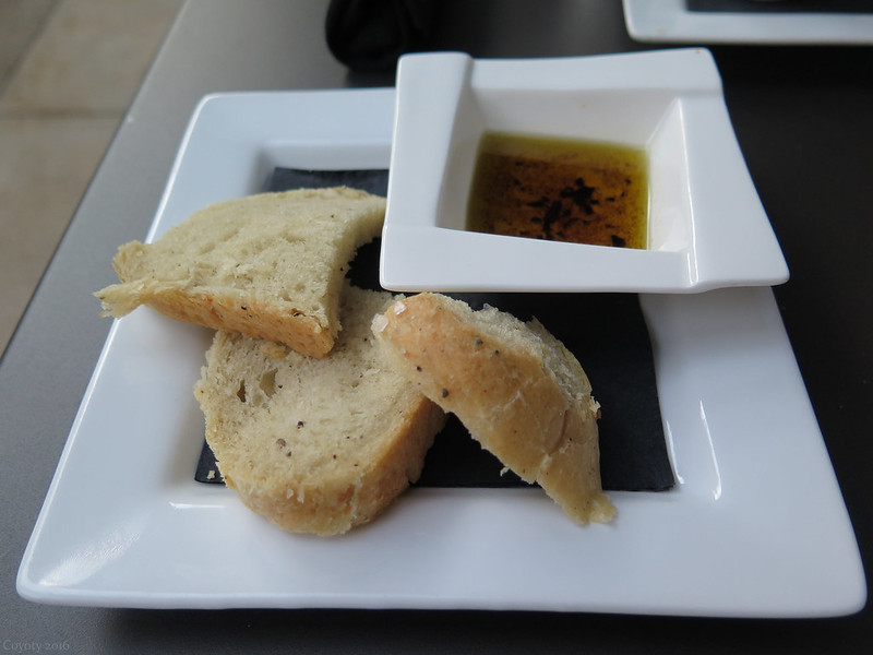House-made focaccia bread and dipping oil
