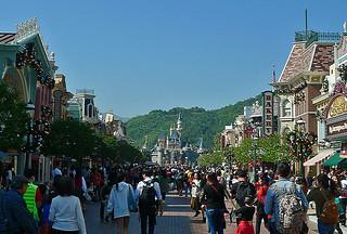 Disneyland Hongkong - Main St
