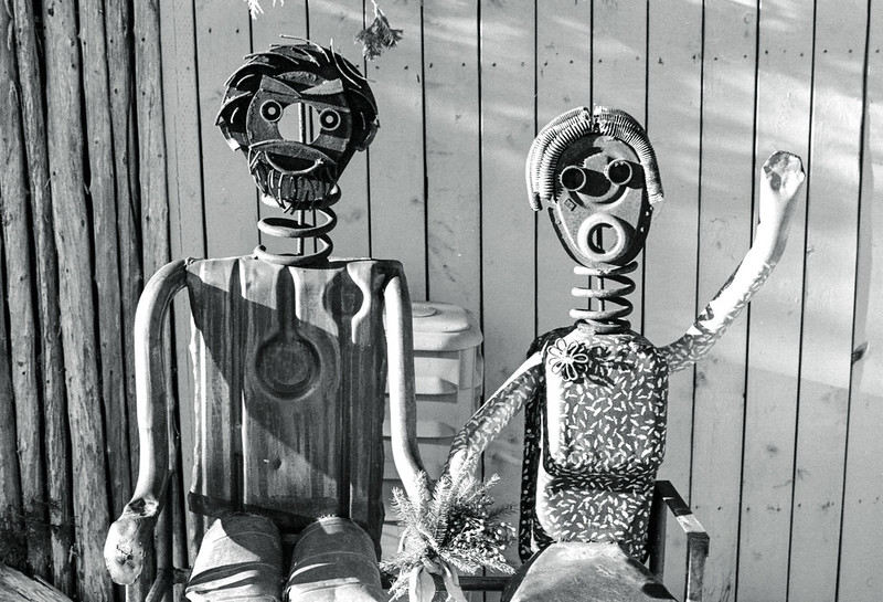Friendly Metal Couple_