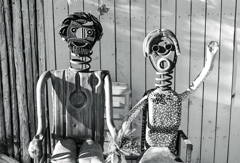 Friendly Metal Couple_
