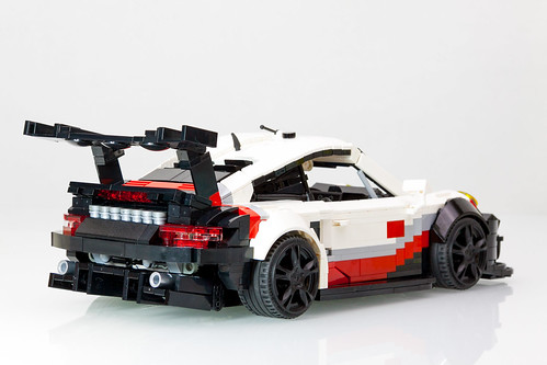 lego porsche 911 rsr 991 2 2017 a lego creation by. Black Bedroom Furniture Sets. Home Design Ideas
