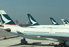 HK Airport - Cathay Pacific planes