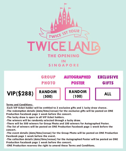 TWICELAND - The Opening – in Singapore VIP