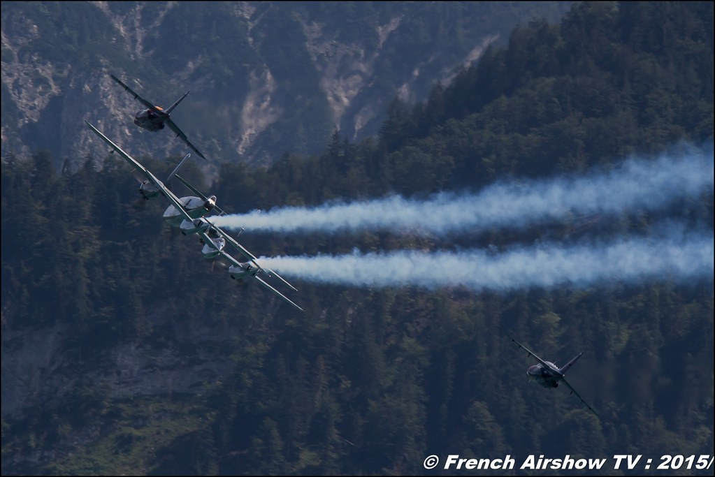 The Flying Bulls , Flying Bulls. Historical aircraft , Alphajet , P-38 , B-25 , Austria, Sankt Wolfgang / St Wolfgang : Austria , scalaria air challenge 2015, Meeting Aerien 2015