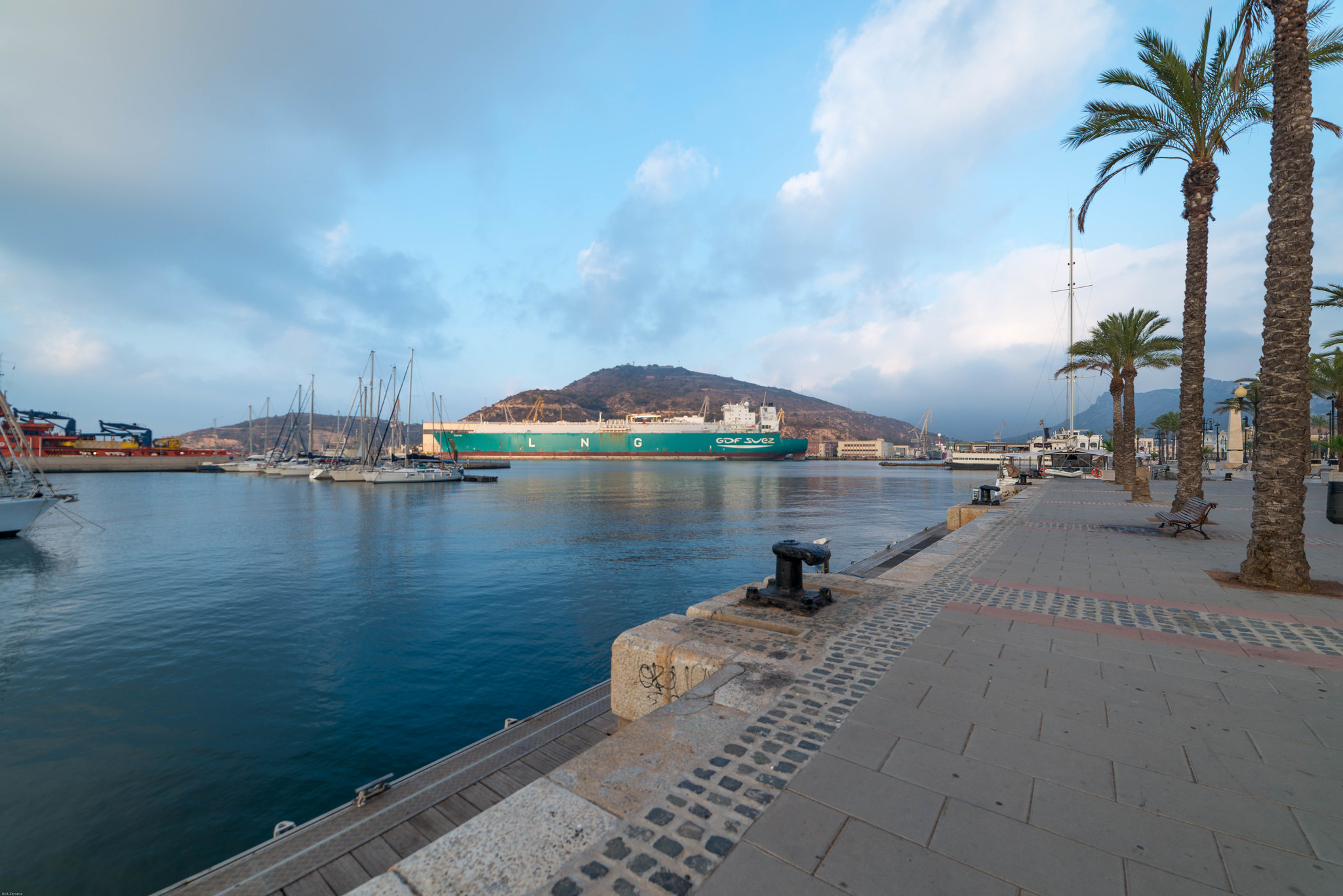 Cartagena Spain harbour