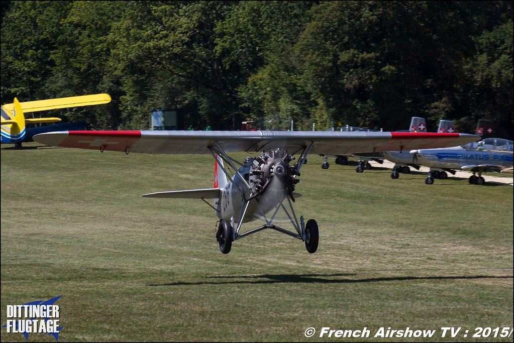 Dewoitine D 26, Dittinger Flugtage 2015 , Internationale Dittinger Flugtage, Meeting Aerien 2015