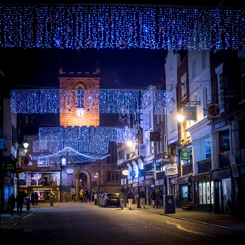Chester Christmas Lights Switch On (19th Nov 2015)