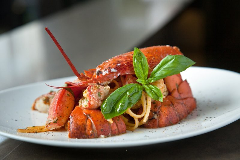 Garibaldi linguine-lobster