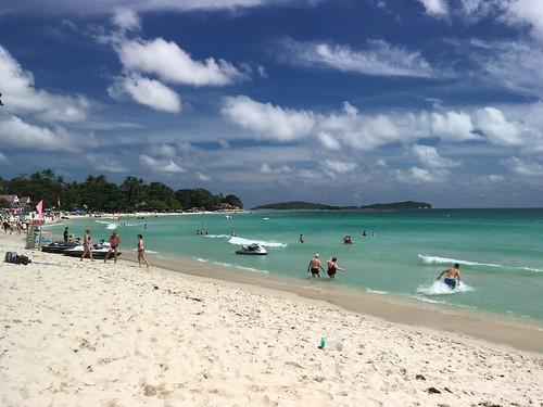 今日のサムイ島 2月4日 チャウエンビーチ!