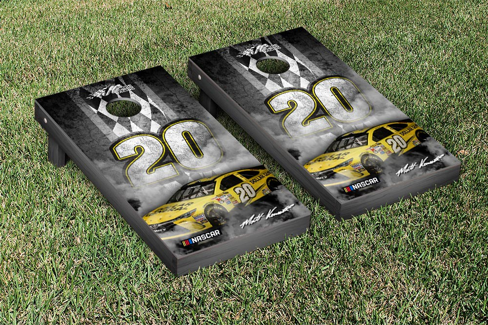 MATT KENSETH #20 CORNHOLE GAME SET PIT ROW VERSION (1)