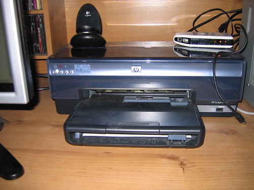 how to get my printer online hp