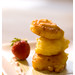Banana Fritters with Strawberry Cream