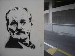 Bill Murray stencil | by Urban Jacksonville