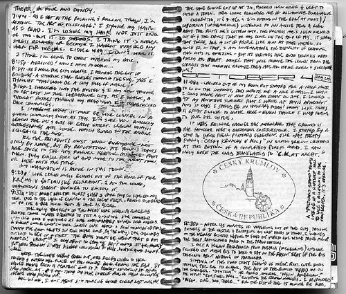 2001 europe journal 1 writing example 3 i have