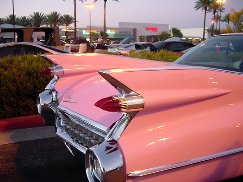 Pink Cadillac Car Hire Donegal