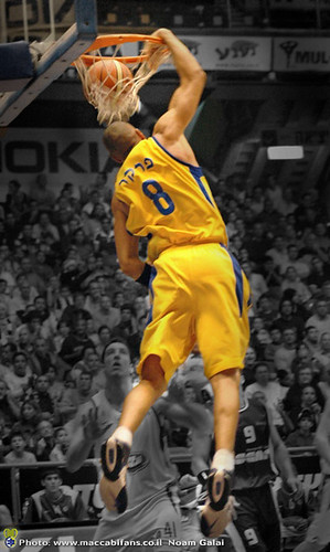 Anthony Parker  - DUNK | by noamgalai