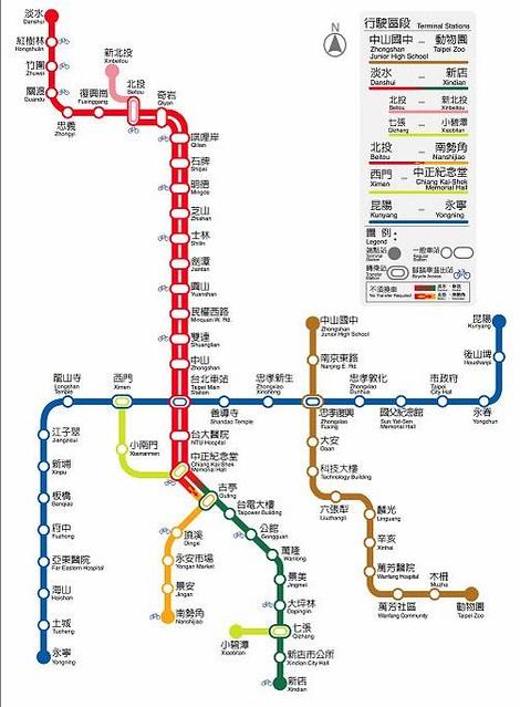 台北捷運的土城線通車( 2006 年5...