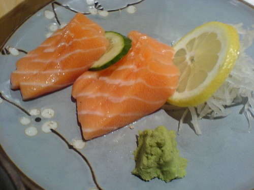 Salmon sashimi | by clotilde