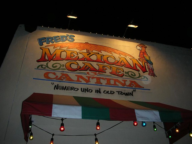 Fred S Mexican Cafe San Diego Old Town