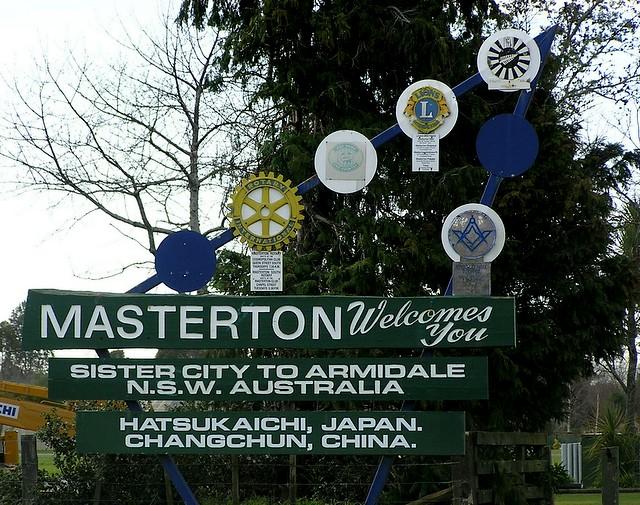 masterton new zealand map