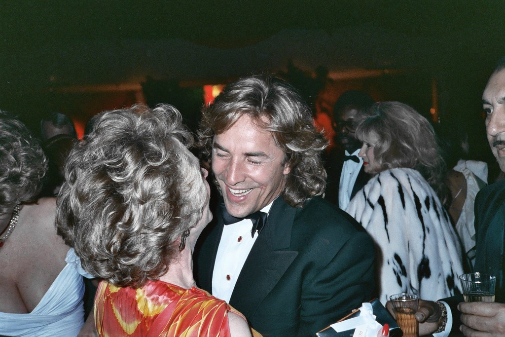 Tippi Hedren Amp Don Johnson Photo Taken At 61st Academy