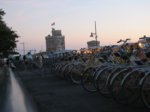 La Rochelle Sunset - Bikes and Towers | by Mikael Colville-Andersen
