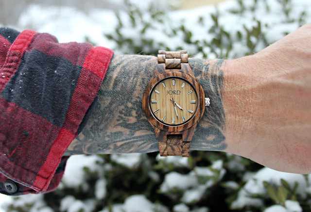 Kevin's new JORD wood watch