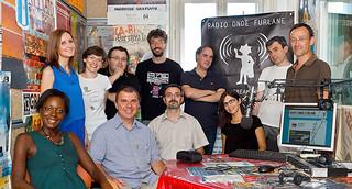La redazion di Radio Onde Furlane