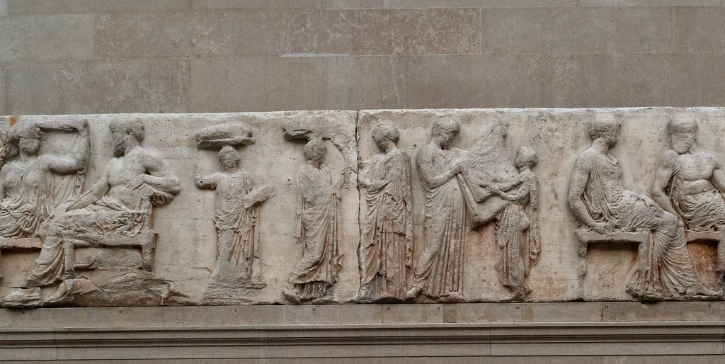 The Parthenon – XIV East Frieze | Between the pairs Hera ...