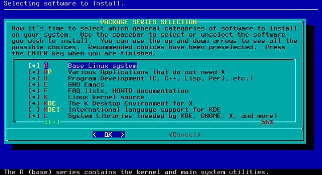 Установка приложений в Slackware
