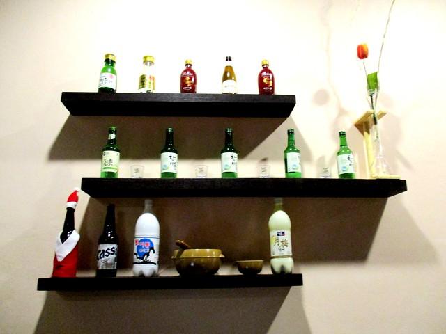 Bar counter decor