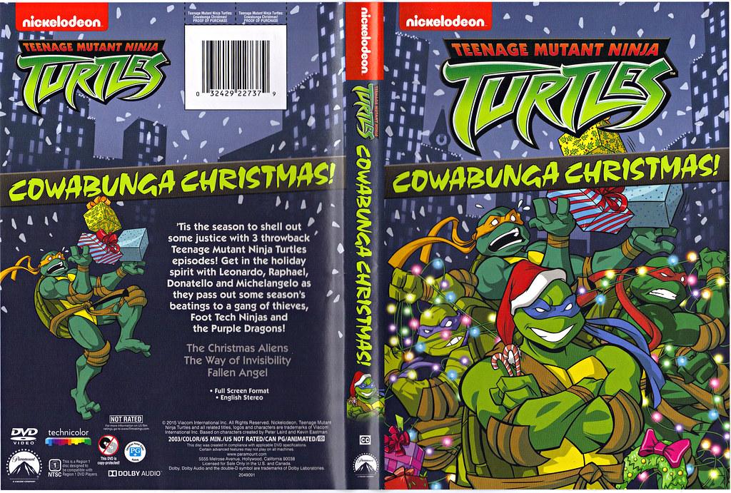 Teenage Toys For Christmas : Teenage mutant ninja turtles cowabunga christmas quot d