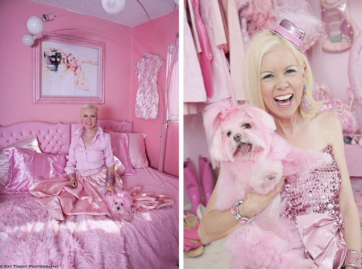 The Pink Lady of Hollywood