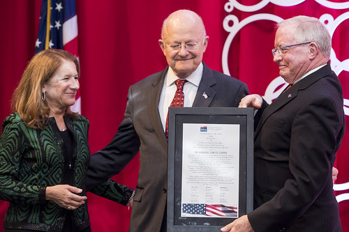 INSA Leadership Dinner with Director of National Intelligence James Clapper