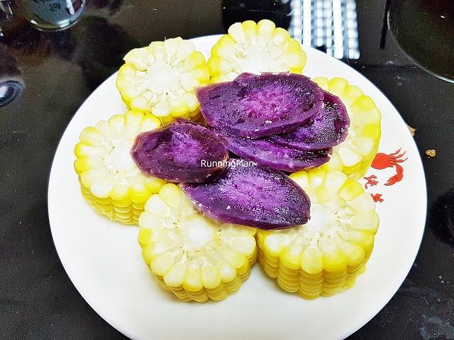 Corn On The Cob, Purple Sweet Potato