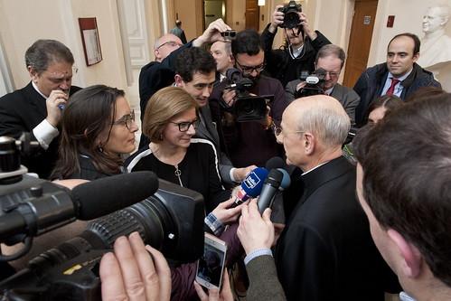 Incontro del nuovo Gran Cancelliere con la stampa