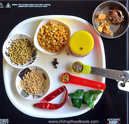 Annapoorna hotel sambar powder recipe