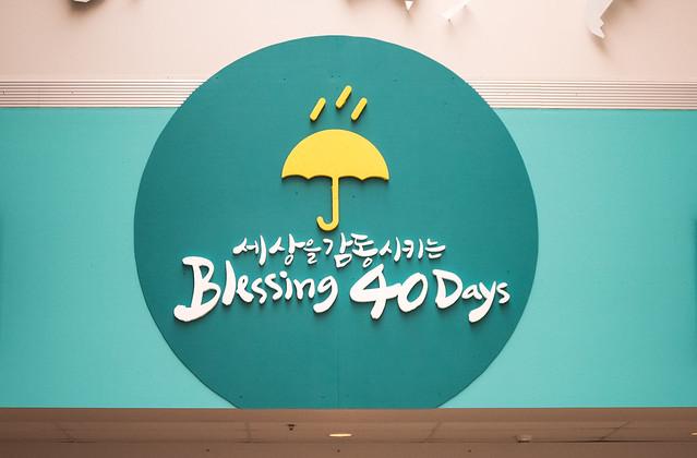 Blessing 40 Days (준비과정)