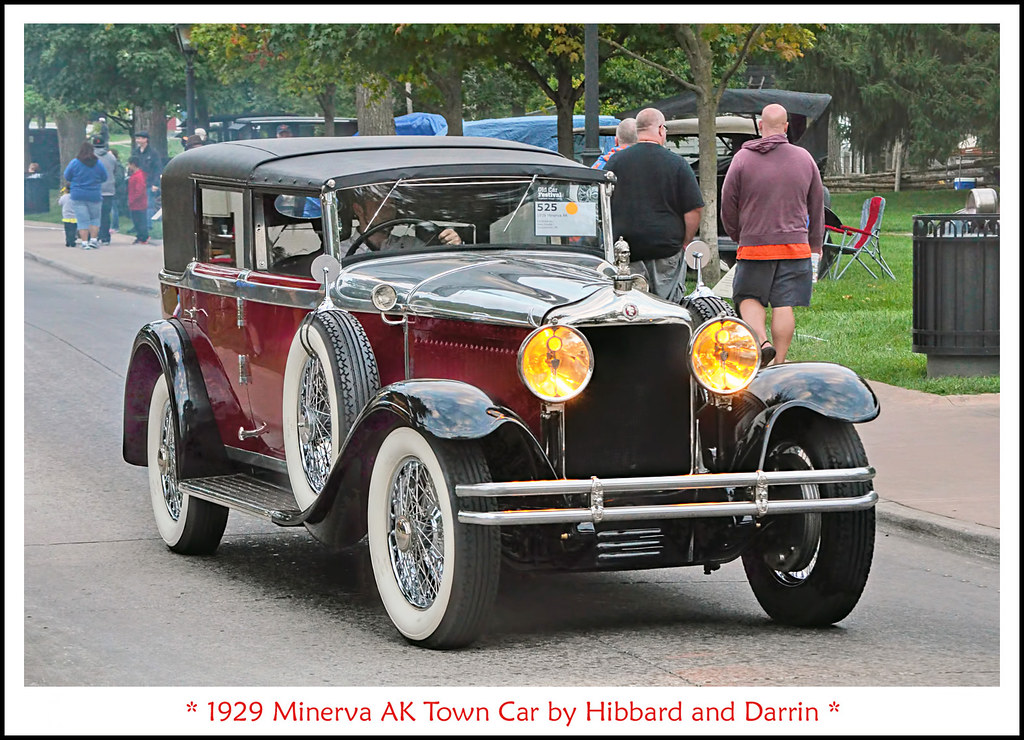 1929 minerva ak town car by hibbard and darrin the. Black Bedroom Furniture Sets. Home Design Ideas